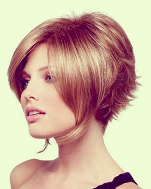 Short Inverted Bob Hairstyles Pictures