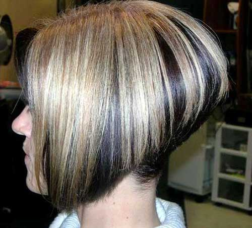 Short Inverted Haircuts for Women 2015
