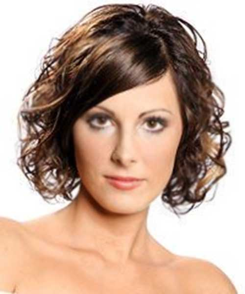 Short Layered Cuts Wavy Curly Hair Styles