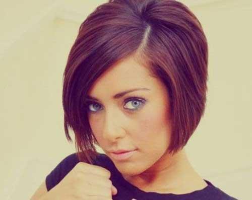 Short Layered Straight Bob Hair for Girls