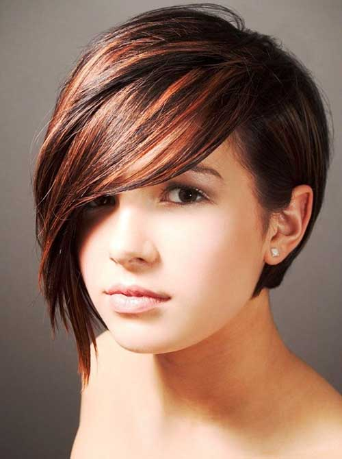 Short Long Pixie Haircuts for Thick Straight Hair 2014