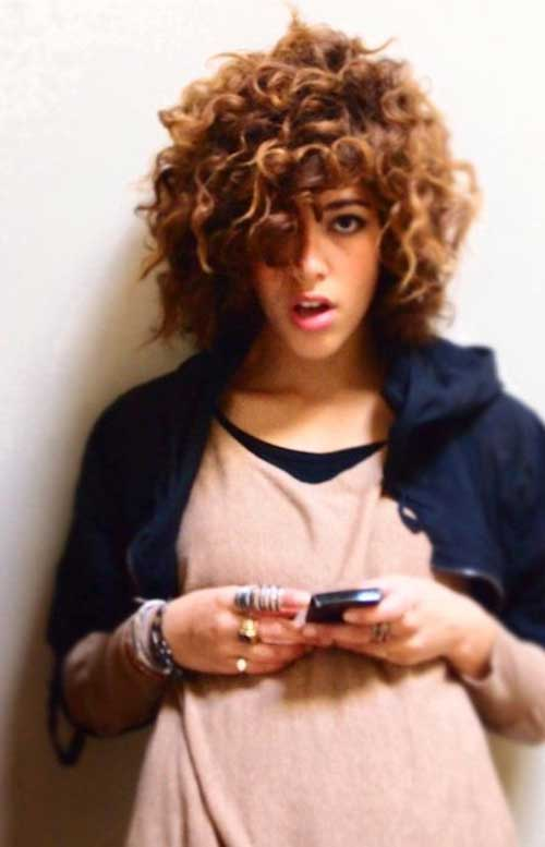 Short Natural Curly Hair Ideas for Girls
