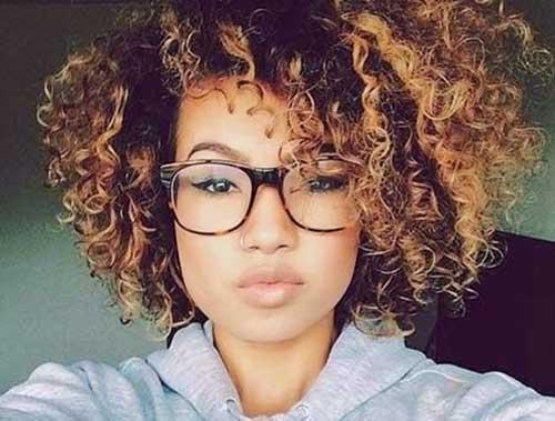 Short Natural Thick Hair Styles