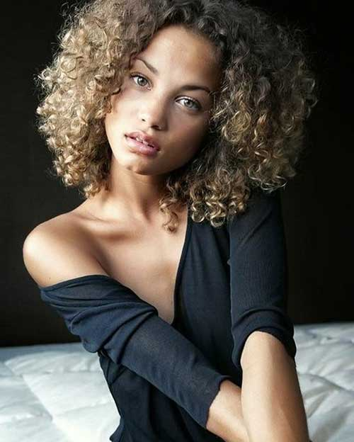 Short Natural Thick Curly Hairstyles