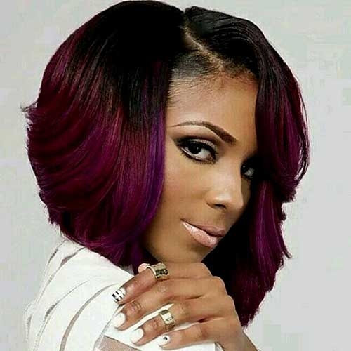 Fine Black Hairstyles Bob Weave Best Hairstyles 2017 Hairstyles For Women Draintrainus