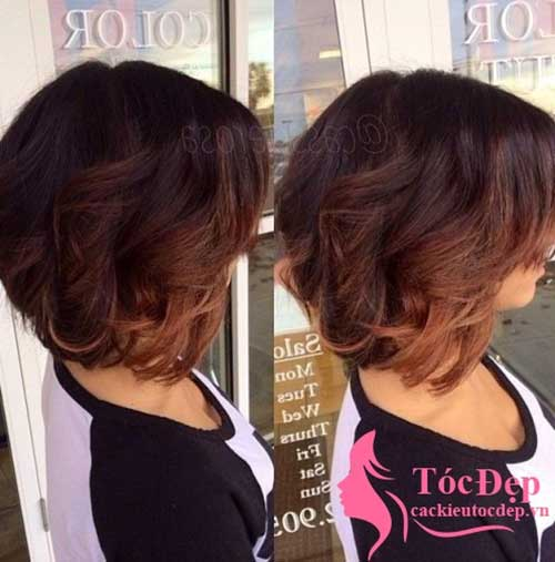Short Ombre Hair Trend 2015