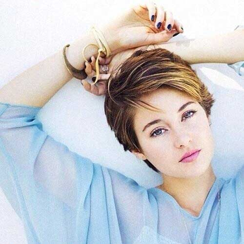 Short Pixie Brown Haircuts for 2015