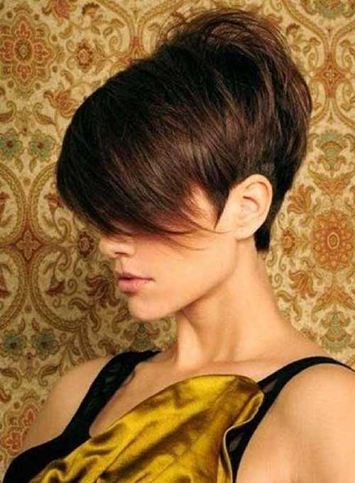 Short Pixie Cropped Hair Side Look Ideas