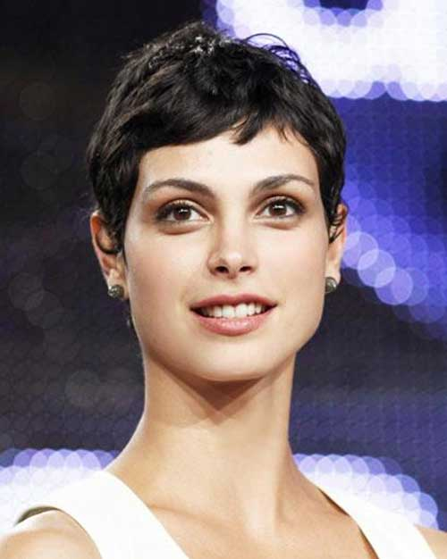 Short Pixie Cropped Hairstyle