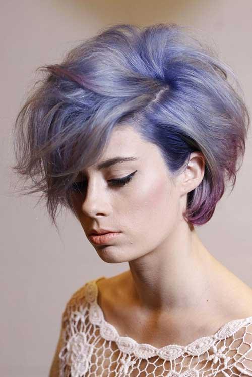 Short Purple Hair Color 2014-2015