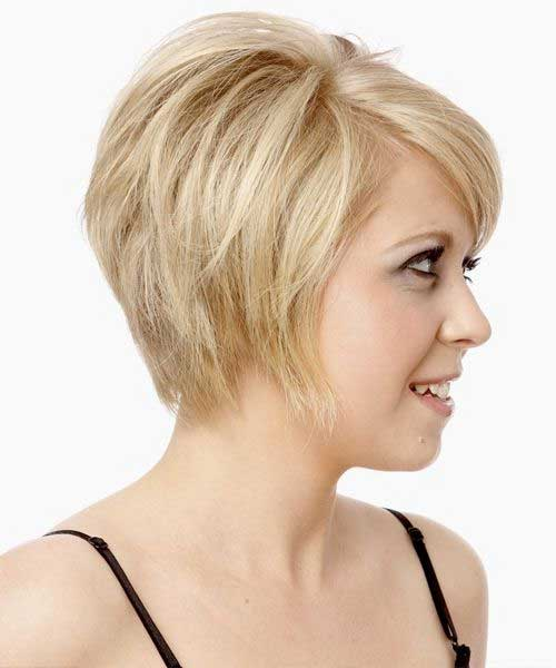 Hairstyles For Fine Hair furthermore Long Inverted Bob With Side Bangs ...