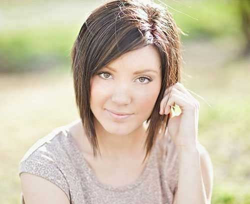 Thick Short Straight Layered Thick Hairstyles
