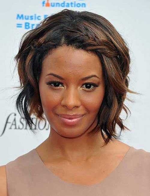 Short Wavy Bob Hairstyles Black Women
