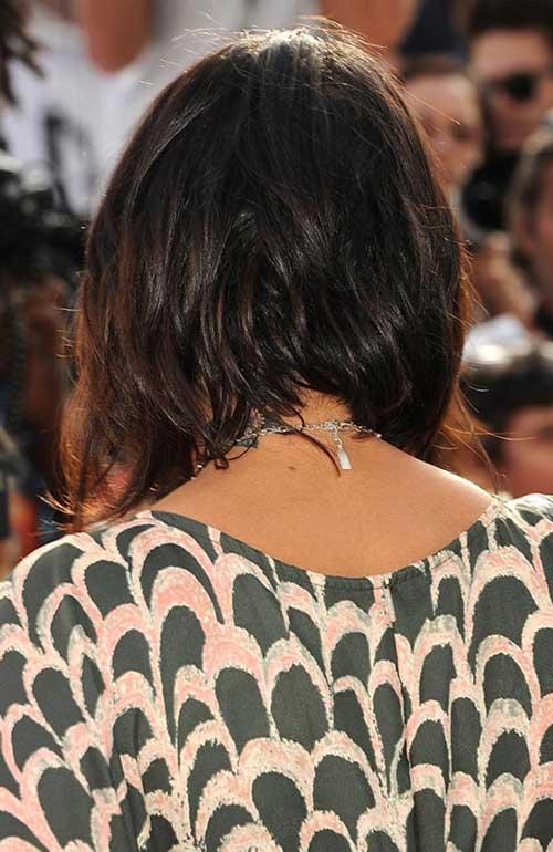 Shoulder Length Bob Haircuts Back View