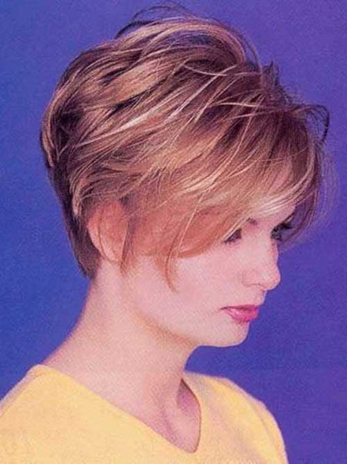 Simple and Cute Layered Graduated Short Hair Cuts