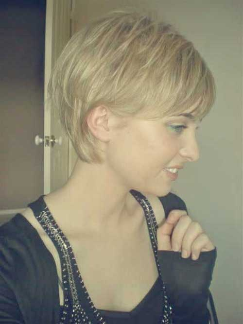 Simple and Cute Short Choppy Hairstyles