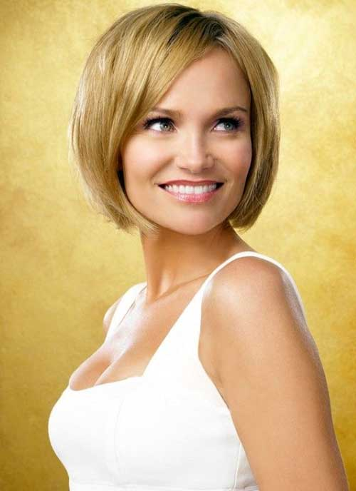 Simple and Cute Trendy Short Bob Hairstyles