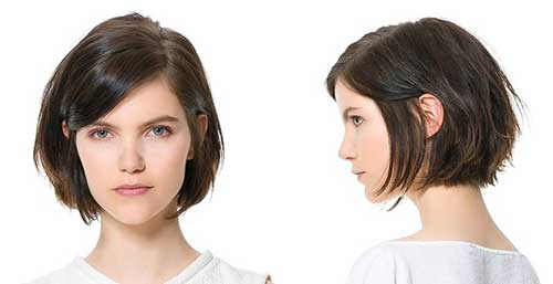 Textured Bob Haircut Style Ideas 2014