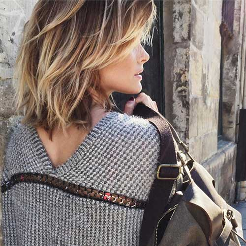 Chic Textured Hairstyles for Short Hair