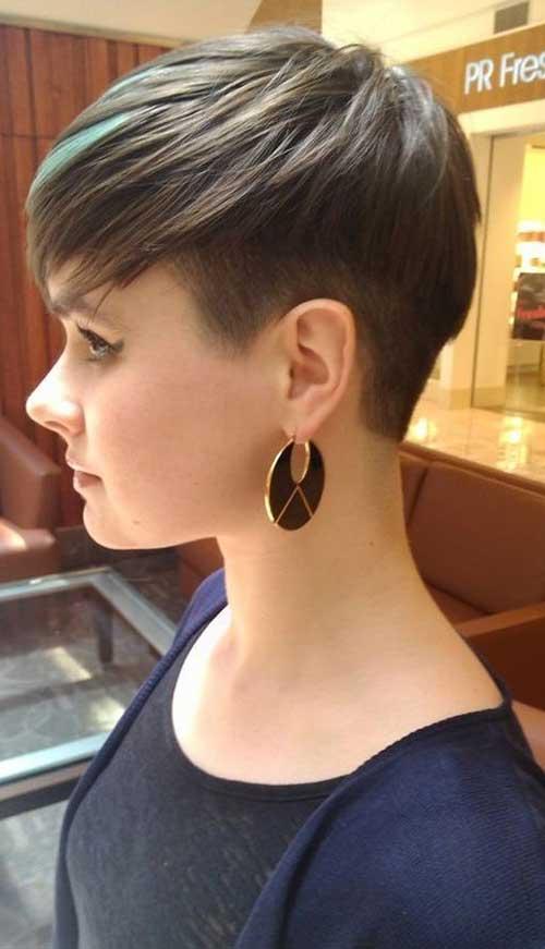 Undercut Pixie Haircut for Thin Hair