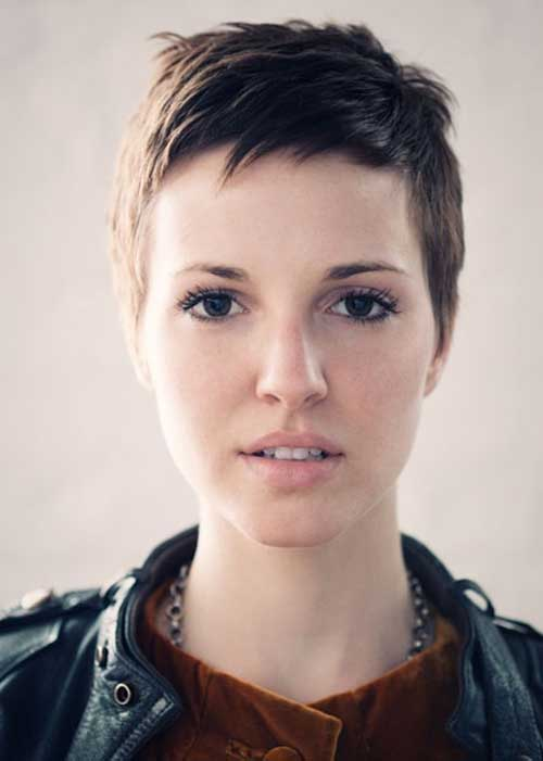 Very Short Cropped Pixie Hairstyles
