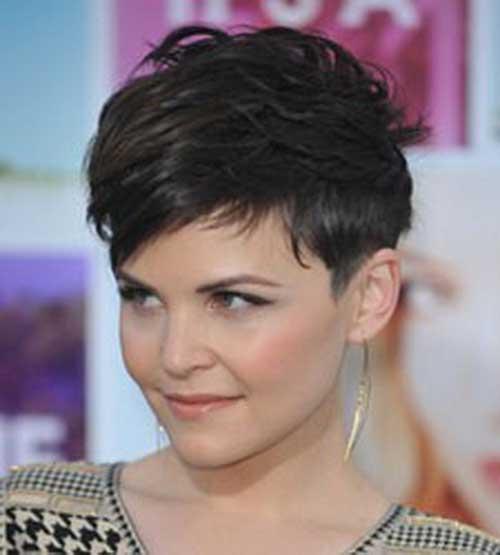 Very Short Female Pixie Haircut