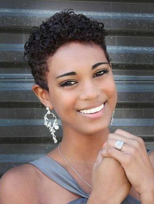Very Short Natural Hairstyles For Black Women