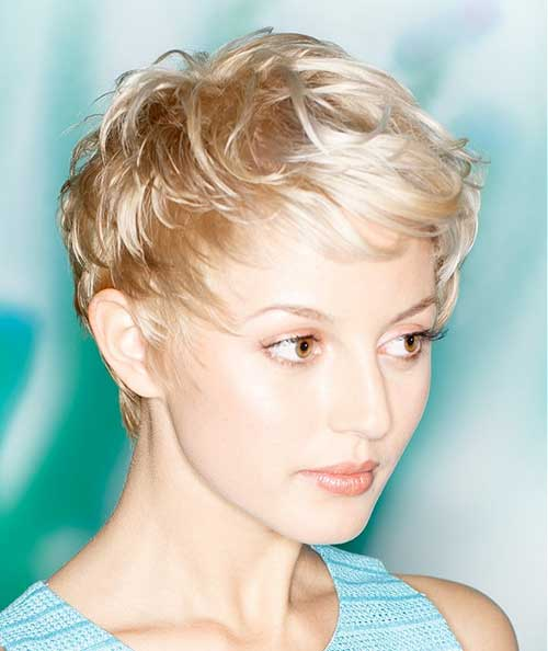 Very Short Messy Haircuts Female
