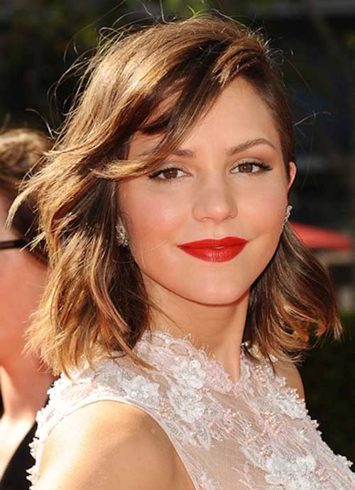 Wavy Thick Hair Long Bob Ideas