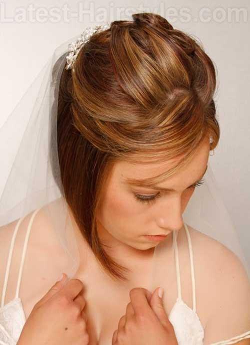 Wedding Updos Bob Hair Style