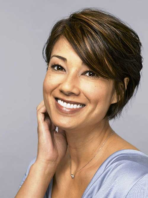 Women Long Pixie Haircuts for Fine Hairstyles
