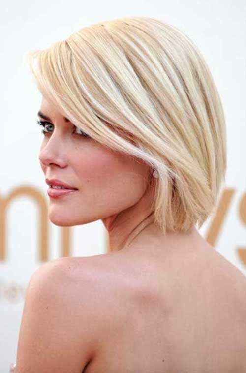 Womens Blonde Bob Hairstyles Ideas 2014