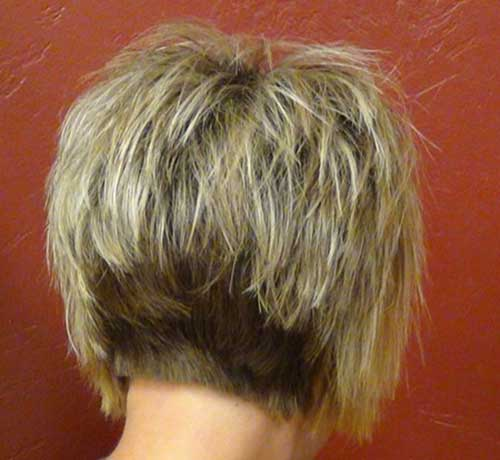 Womens Stacked Bob Hairstyles 2014