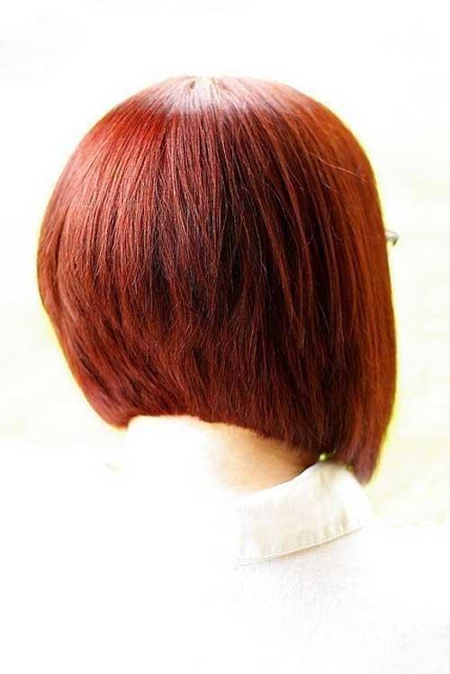 Womens Short Graduated Bob Hairstyles 2014