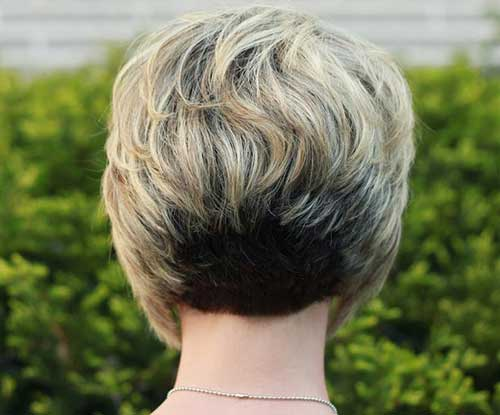 Womens Straight Bob Hairstyles Back View 2014