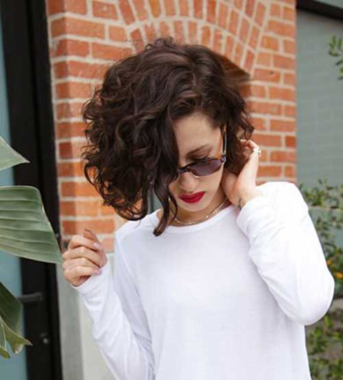 Short Haircuts for Curly Hair-14