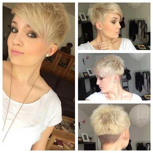 Cute Short Hair Styles-20