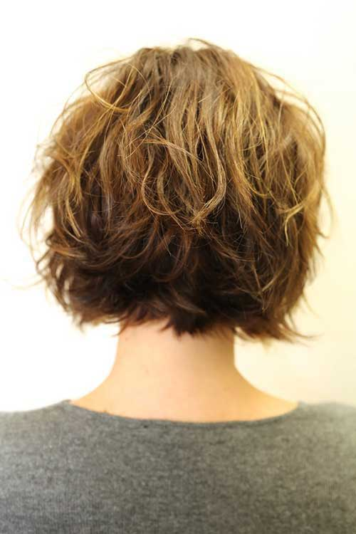 Hairstyles for Short Wavy Hair-6