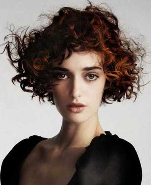 Short Haircuts for Curly Hair-6