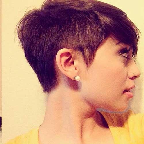 Cute Short Hair Styles-7
