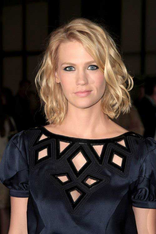 Hairstyles for Short Wavy Hair-8