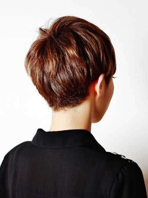 Pixie Haircut Back View-9