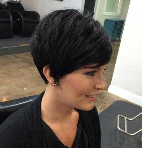 Pixie Cut Brunette