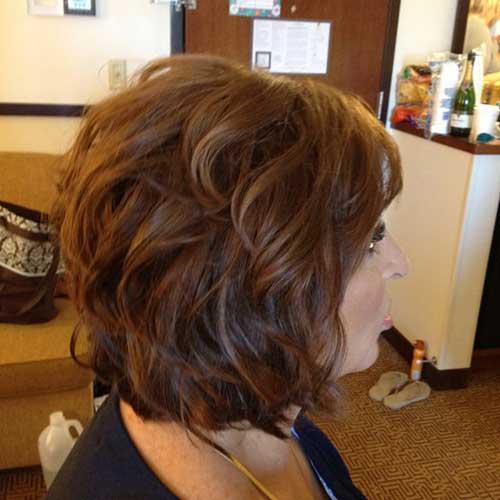 Short Hairstyles Wavy Hair