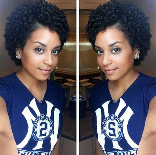 Cute Short Hairstyles for Black Women-10