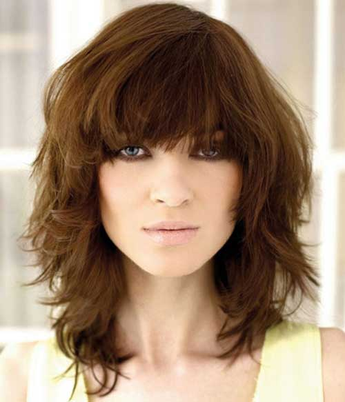Hairstyles for Medium Short Hair-10