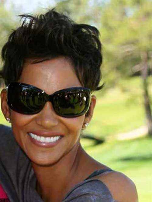 Cute Short Hairstyles for Black Women-11