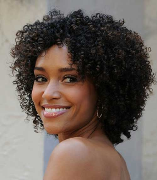 Cute Short Hairstyles for Black Women-15