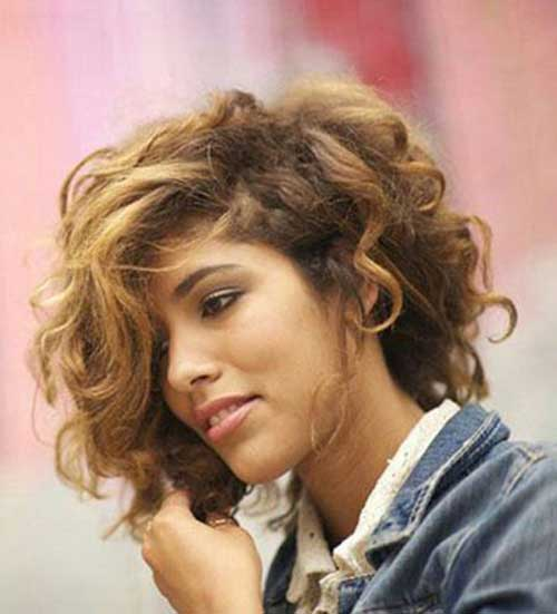 2014 Short Curly Popular Hairstyles