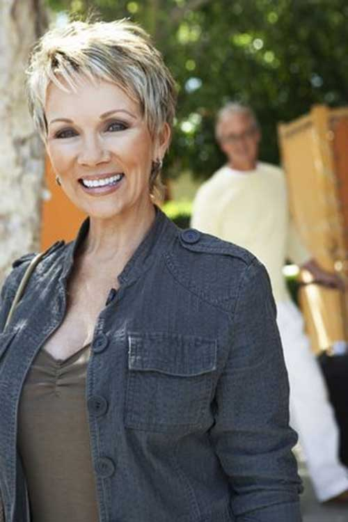 2015 Pixie Haircuts for Older Ladies